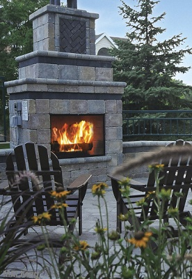 Province Hill - Outdoor Fireplace