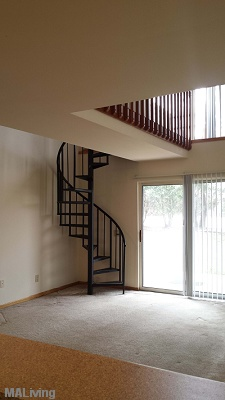 NorthPark Apartments - 1 bedroom Loft with Spiral Staircase and Cat Walk
