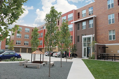 Longfellow Lofts - Courtyard