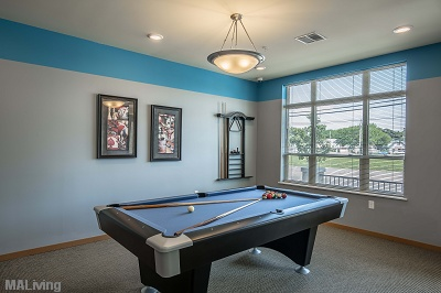 Wingra Point Residences - Billiards