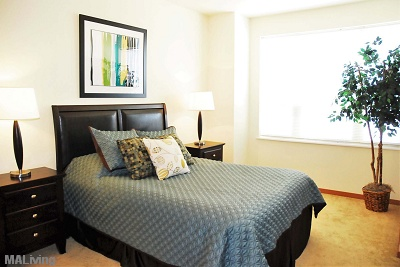 Wingra Point Residences - Carpeted Bedrooms
