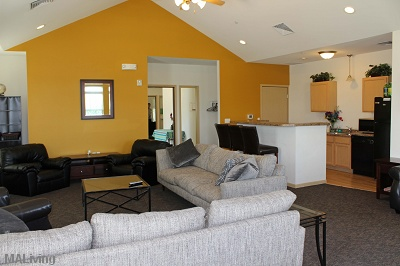 Middleton Ridge - Beautiful Clubhouse with Full Kitchen, Big Screen and Gas Fireplace