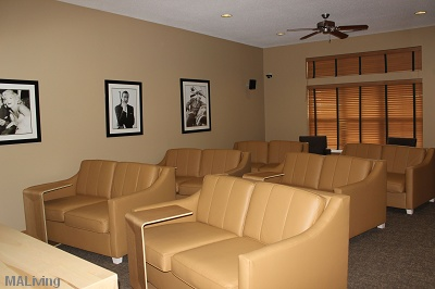 LeSilve Apartments - Theater Room with Surround Sound