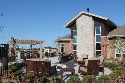 Paragon Place at Bear Claw Way - Outdoor Lounge and Firepit