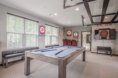 Hidden Creek Residences - Clubhouse Billiards and  Games