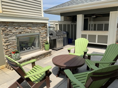 Aspen Ridge - Rooftop Sundeck with Fireplace