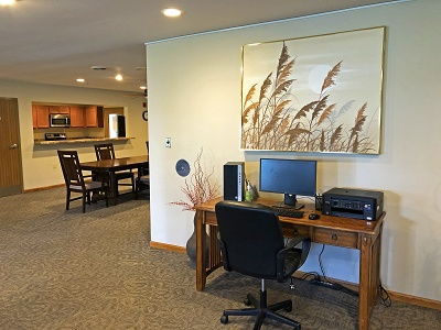 Sugar Creek Senior Apartments - Community Room