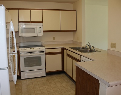 Sugar Creek Senior Apartments - 1 Bedroom Kitchen