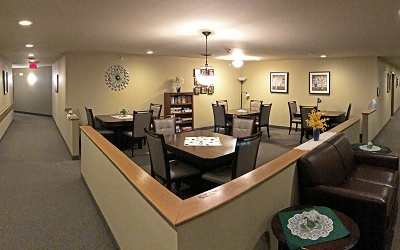 Sugar Creek Senior Apartments - 3rd Floor Lounge