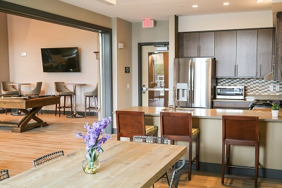The Reserve at High Point - Resident Lounge + Community Room